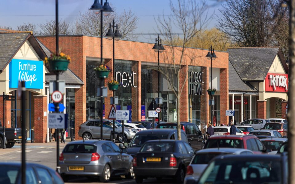 Two Rivers Retail Park, Staines