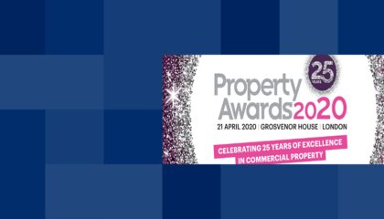 Property Week Awards 2020 banner image