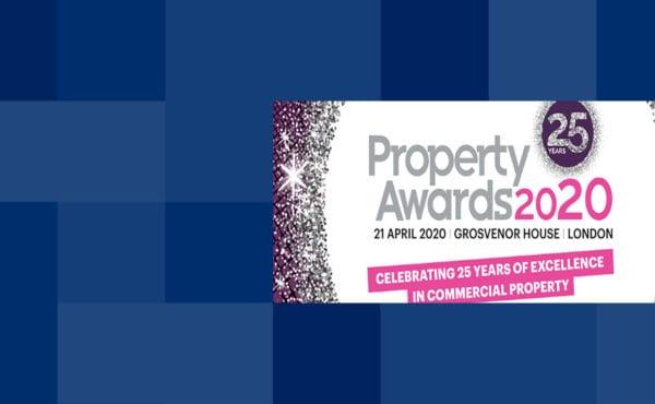 Property Week Awards 2020 banner image