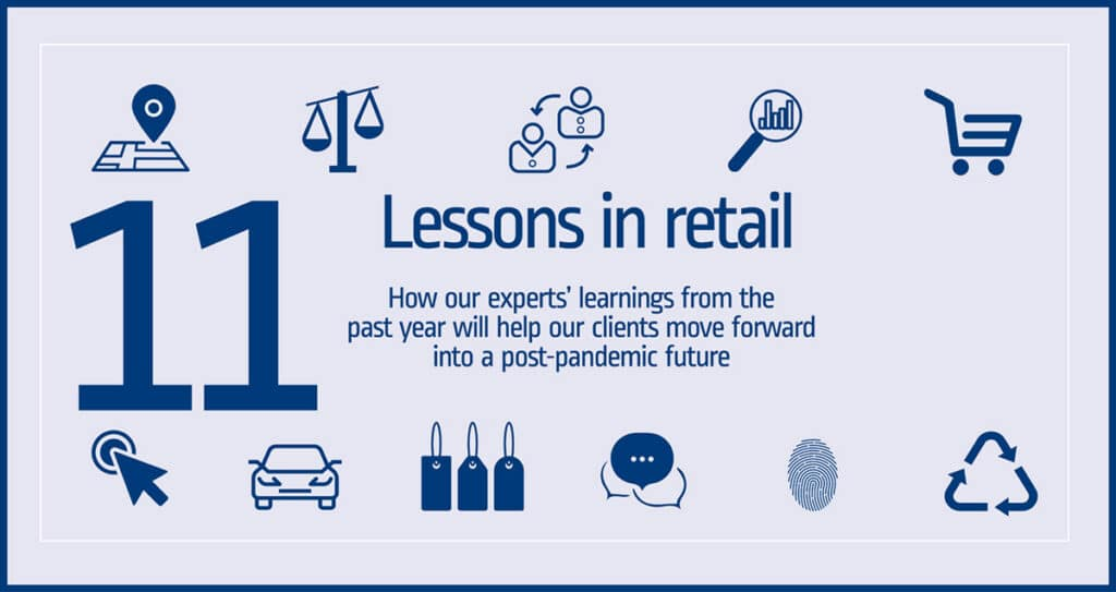 Workman retail experts share 11 Lessons in Retail for a post-pandemic future